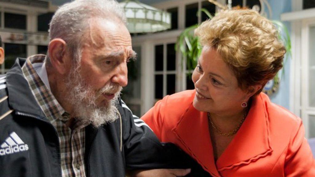 En un encuentro con Dilma Rousseff