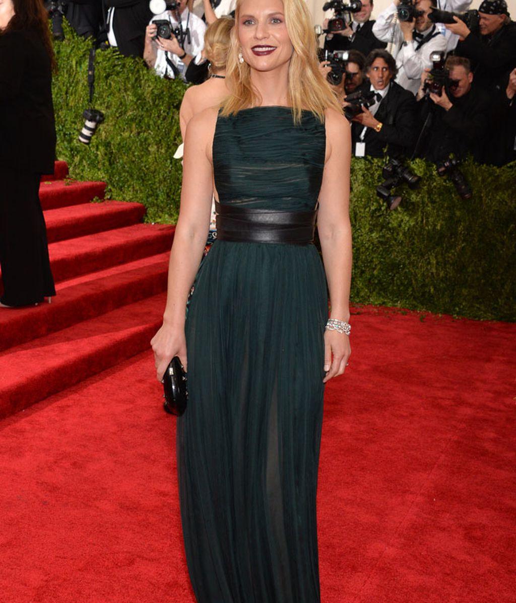 Claire Danes con vestido de Valentino