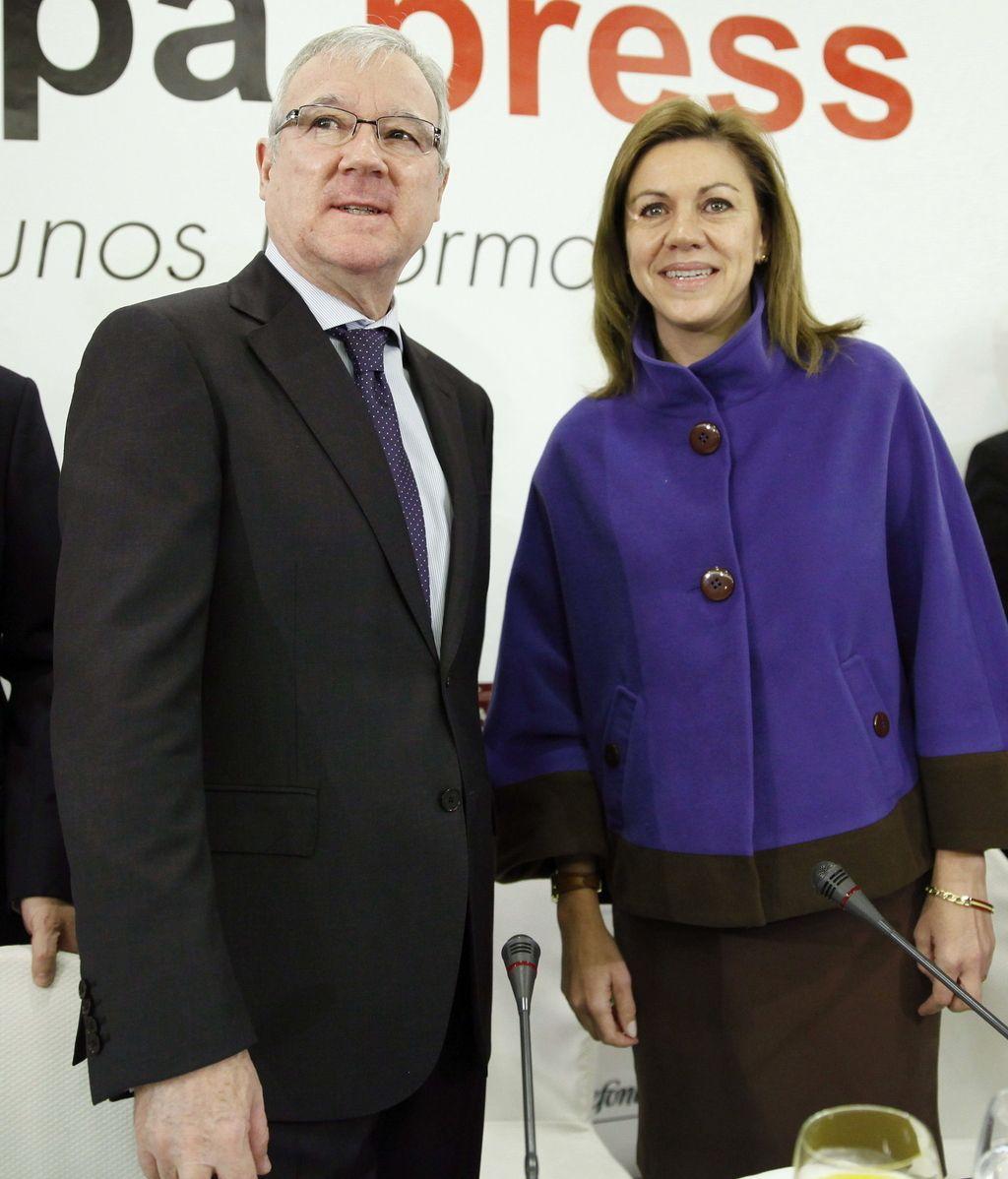 Ramón Luis Varcácel y María Dolores de Cospedal