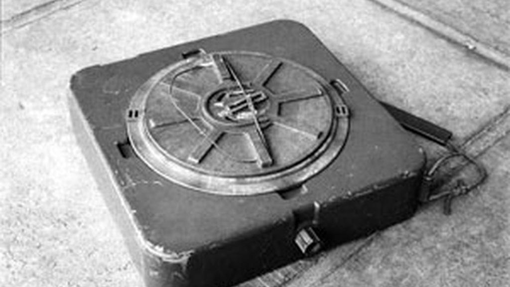 Imagen de una mina antipersona. Foto: AP.