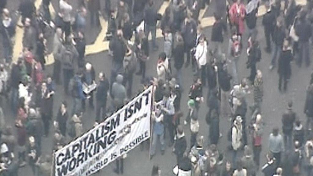 Comienzan las protestas