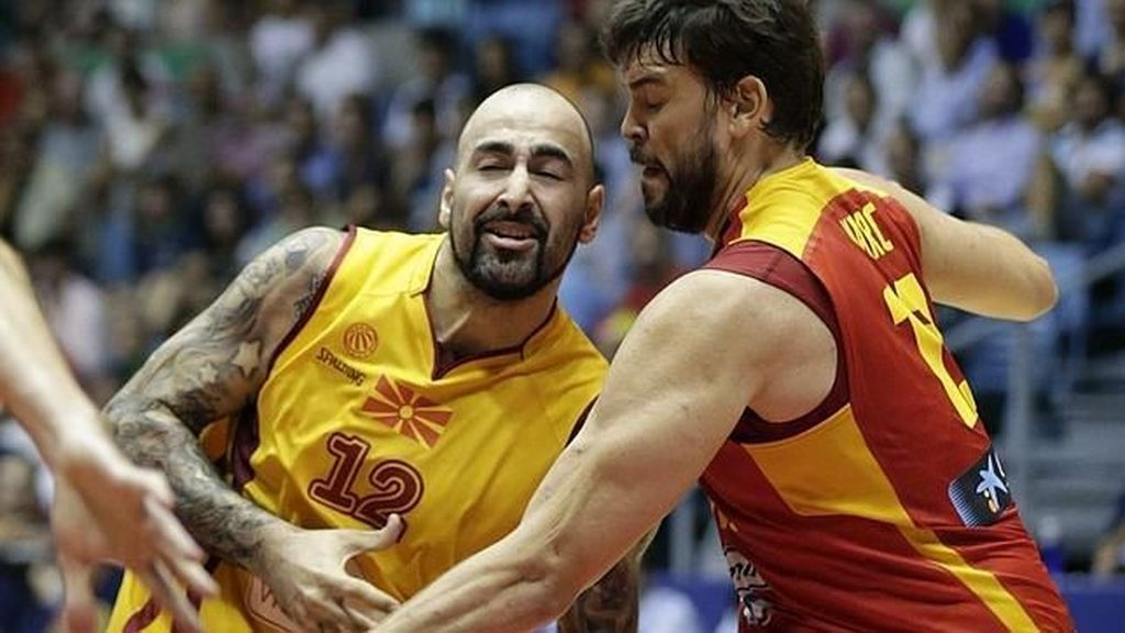 Marc Gasol, ante Macedonia