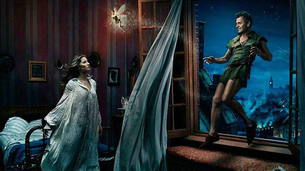 Gisele Bundchen, Tina Fey y Mikhail Baryshnikov son personajes de 'Peter Pan'