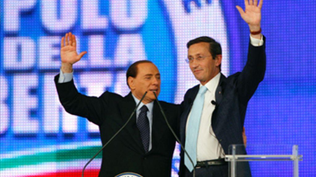 Berlusconi rompe con el cofundador de su partido y le pide que deje la presidencia de la Cámara de Diputados