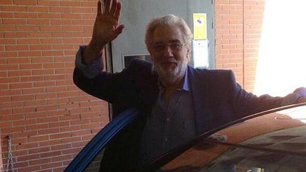 Plácido Domingo, dado de alta tras ser tratado de una embolia pulmonar