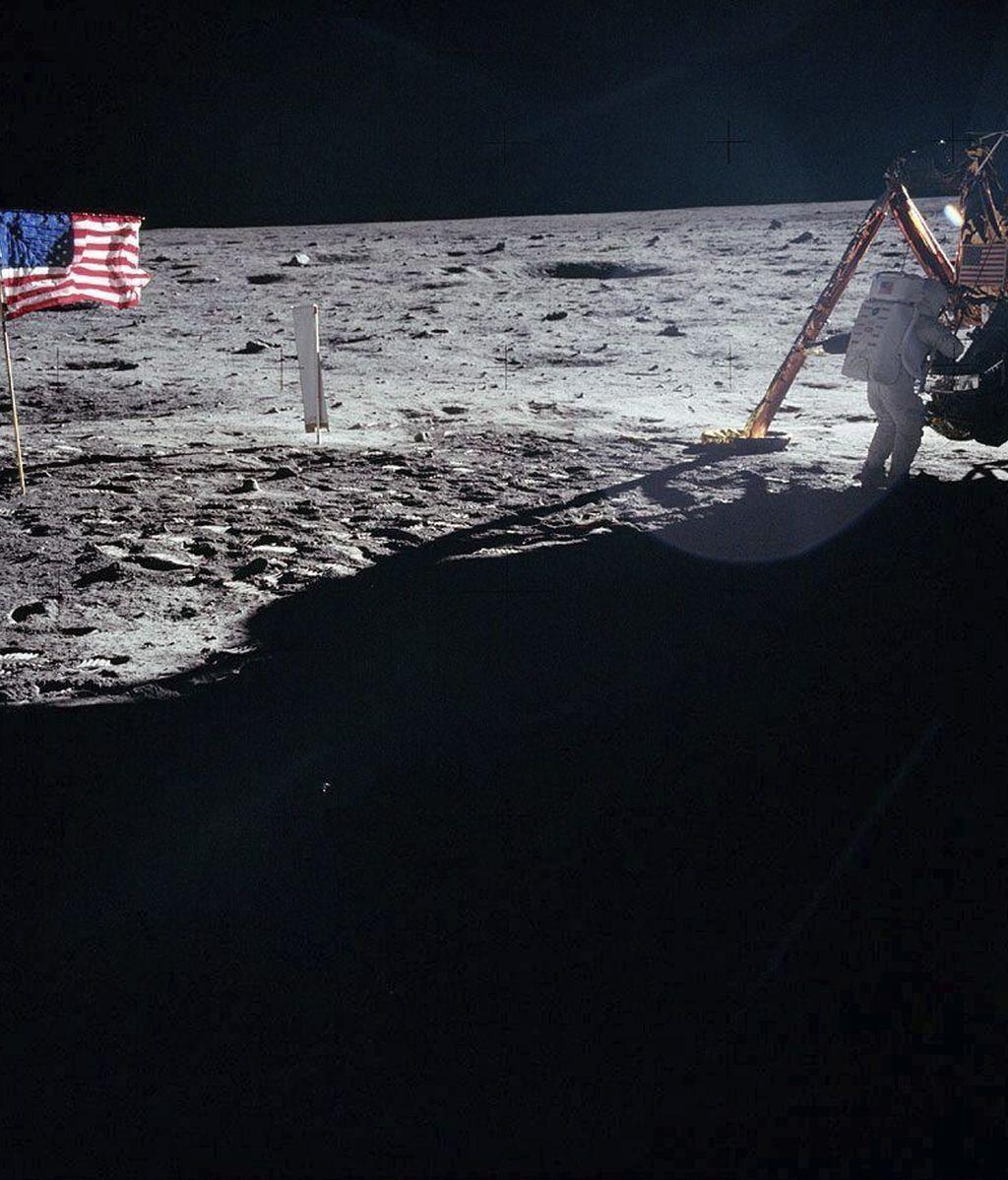 """Sus famosas palabras al pisar la Luna: """"Un pequeño paso para el hombre pero un gran salto para la Humanidad"""""""