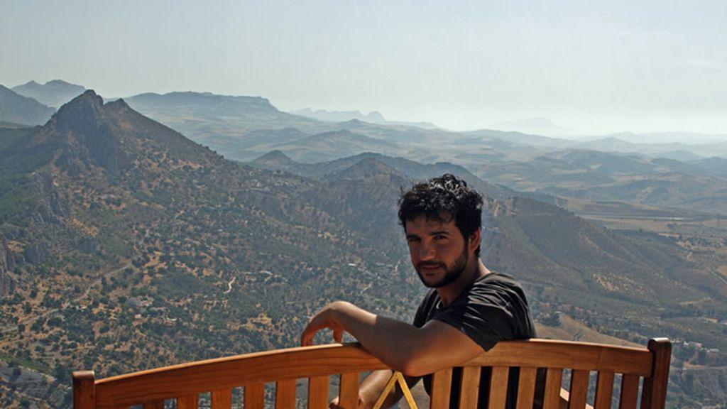 El Valle de Guadalhorce en Málaga es la vista favorita de Fran Perea