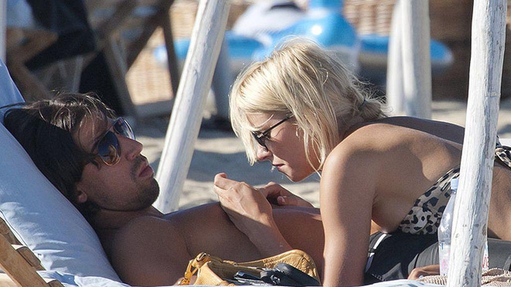 Khedira y su novia Lena Gercke