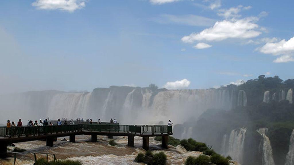 Las impresionante catarátas de Iguazú