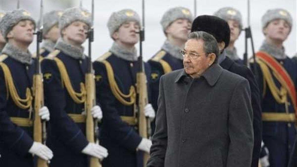 Castro visita Rusia