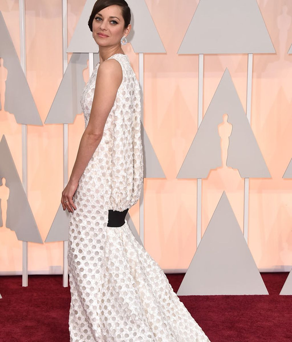 Espalda del vestido de Marion Cotillard