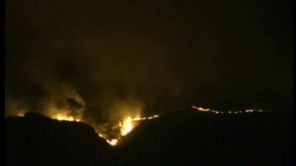Detenidos los autores del incendio en Navarra