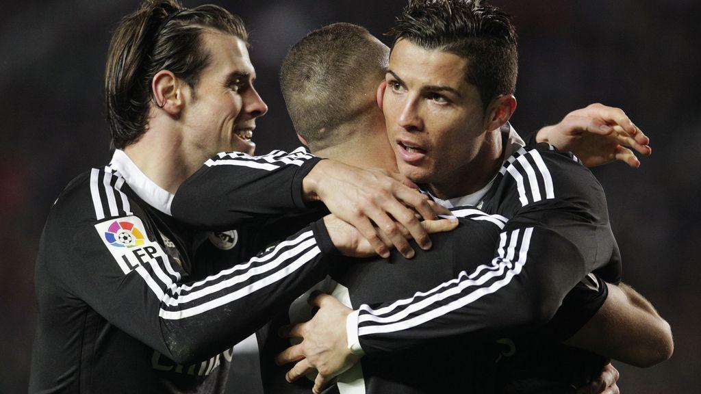 Bale, Benzema, Cristiano Ronaldo