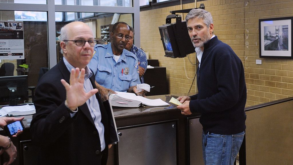 George Clooney, detenido. Foto: GTRES