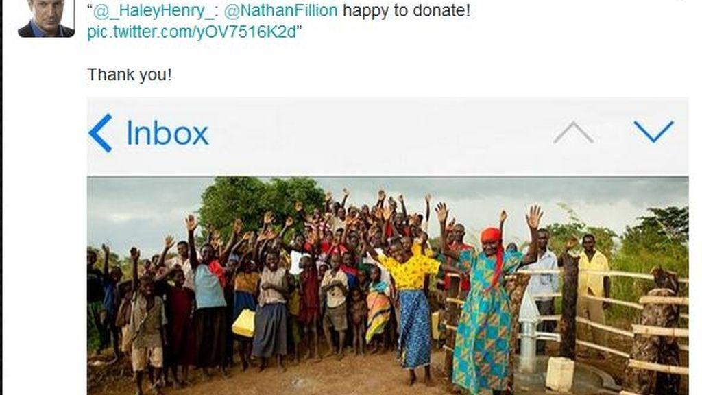 Tuits donaciones Castle