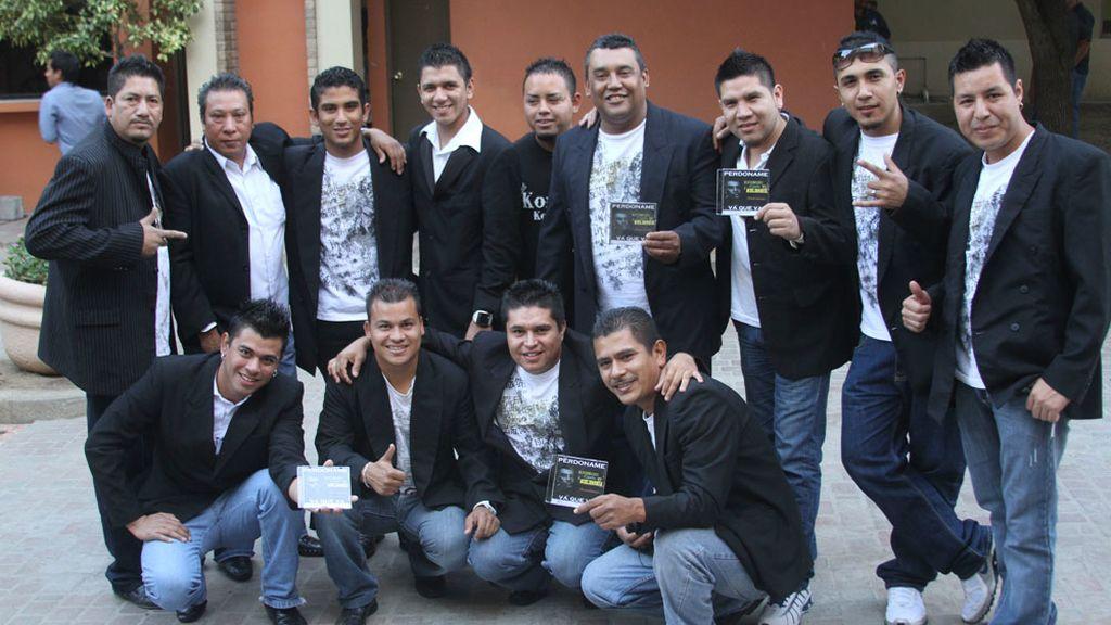 Los integrantes del grupo Kombo Kolombia en una imagen de archivo