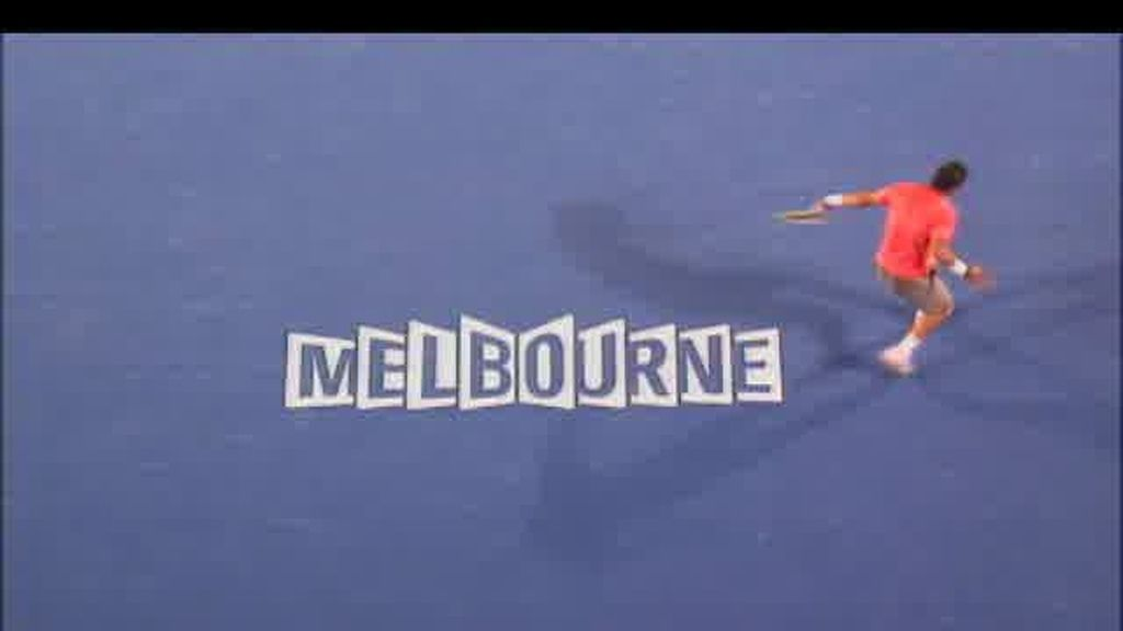 Promo Open de Australia. David Ferrer - Andy Murray