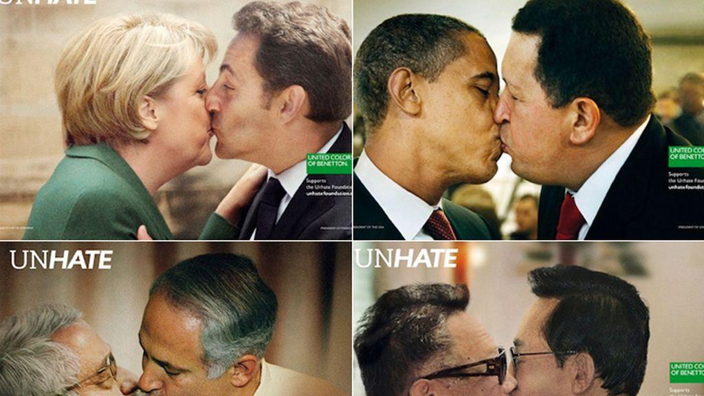 Besos más imposibles que los de Benetton