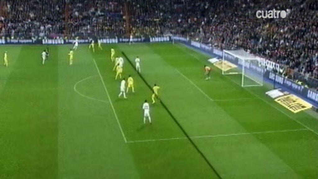 Frente al Villarreal, ¿hubo o fuera de juego en el tercer gol?