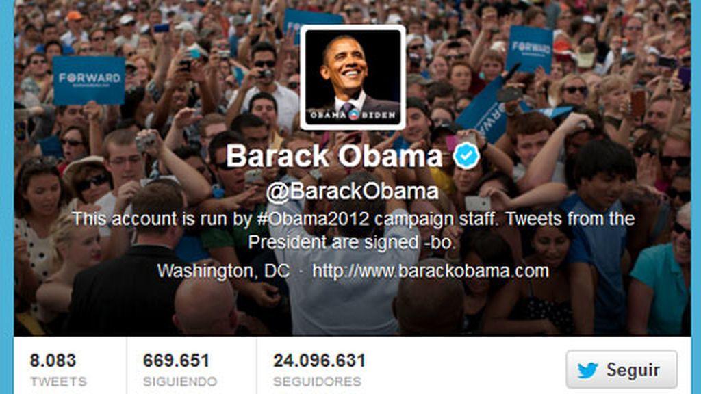 Barack Obama, cuenta obama Twitter