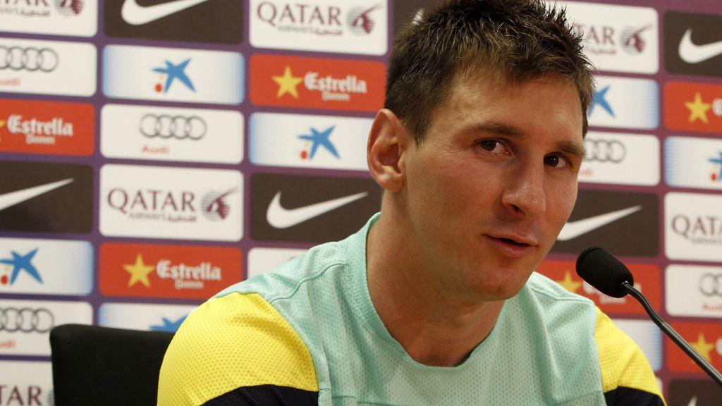Messi, tranquilo por sus asuntos con Hacienda y seguro de que todo irá bien con Neymar