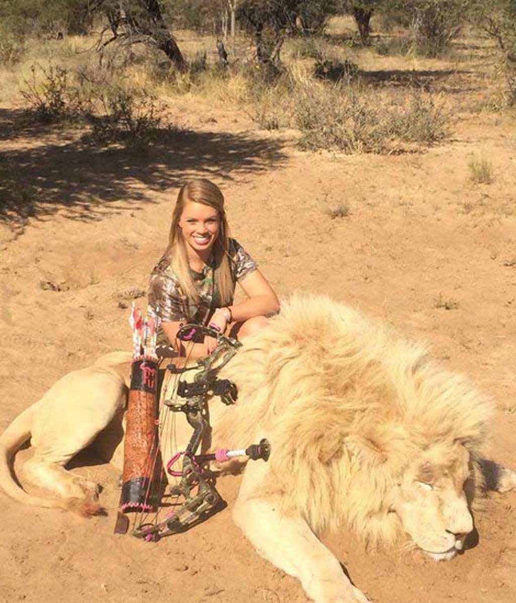 Con 19 años ha cazado a las cinco grandes bestias africanas