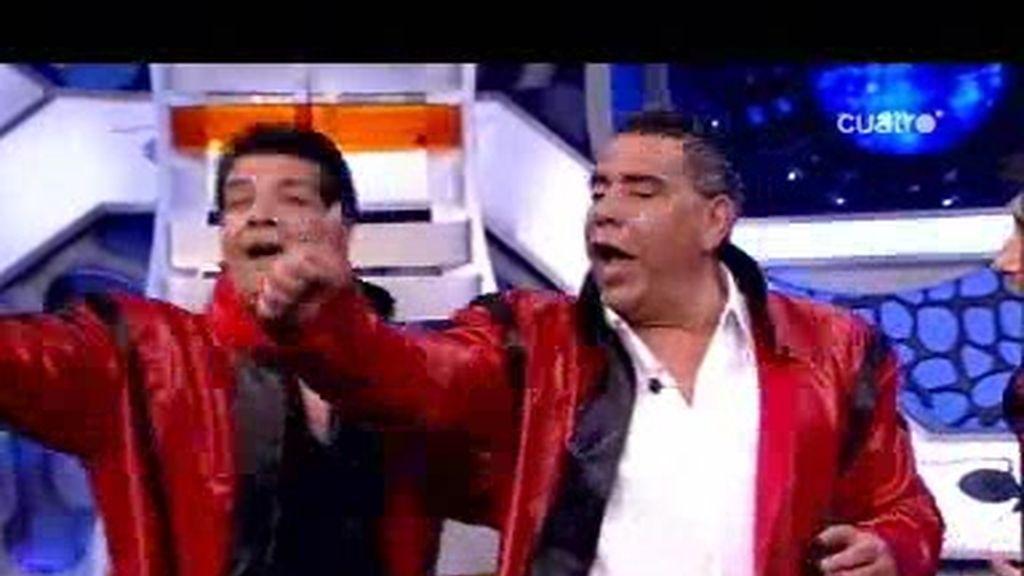 Los Chunguitos cantan y bailan a lo Michael Jackson