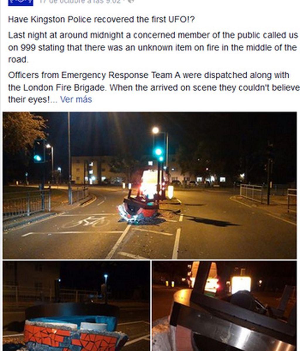 Facebook de la policía de Londres