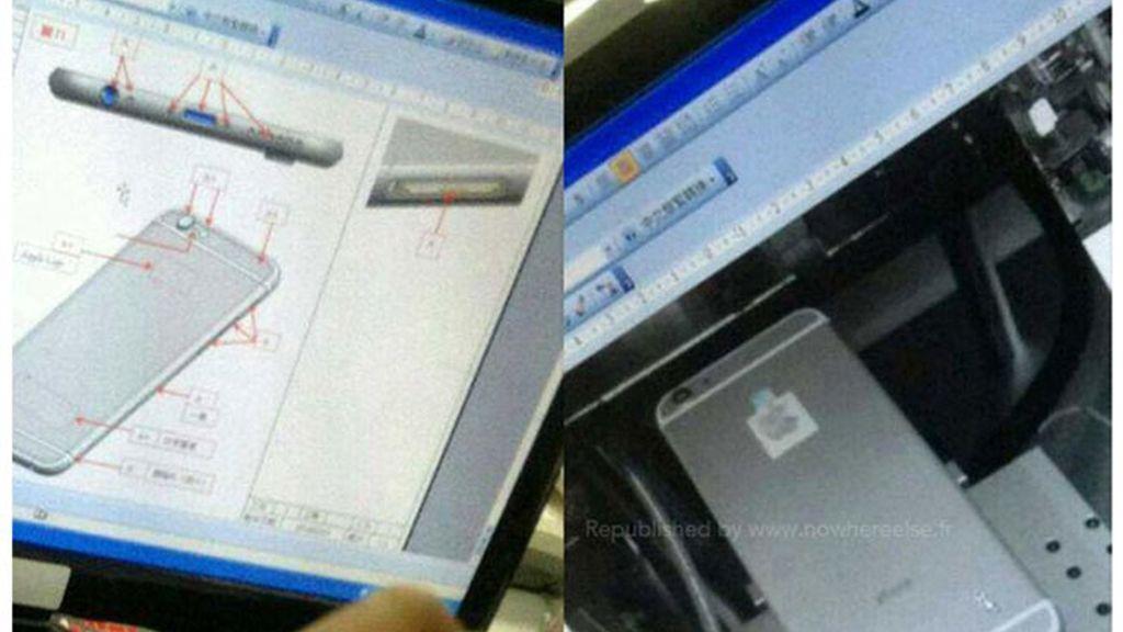 Filtran nuevas imágenes del iPhone 6
