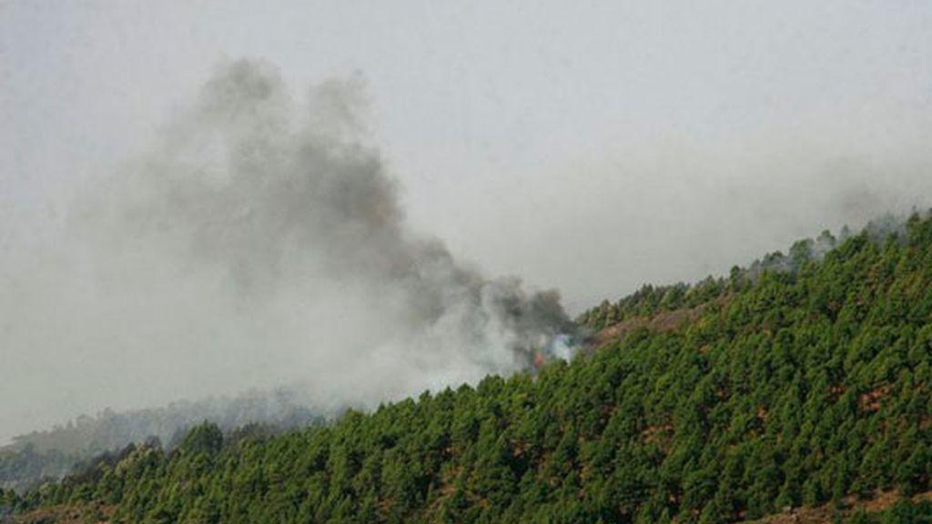 Incendio descontrolado en La Palma