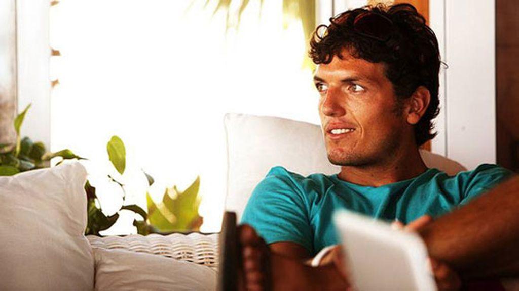Victor Fernández, el windsurf es cosa de guapos