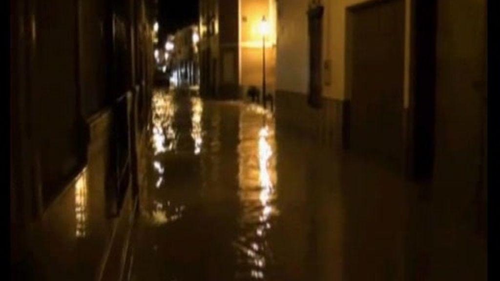 Inundaciones en Jaén