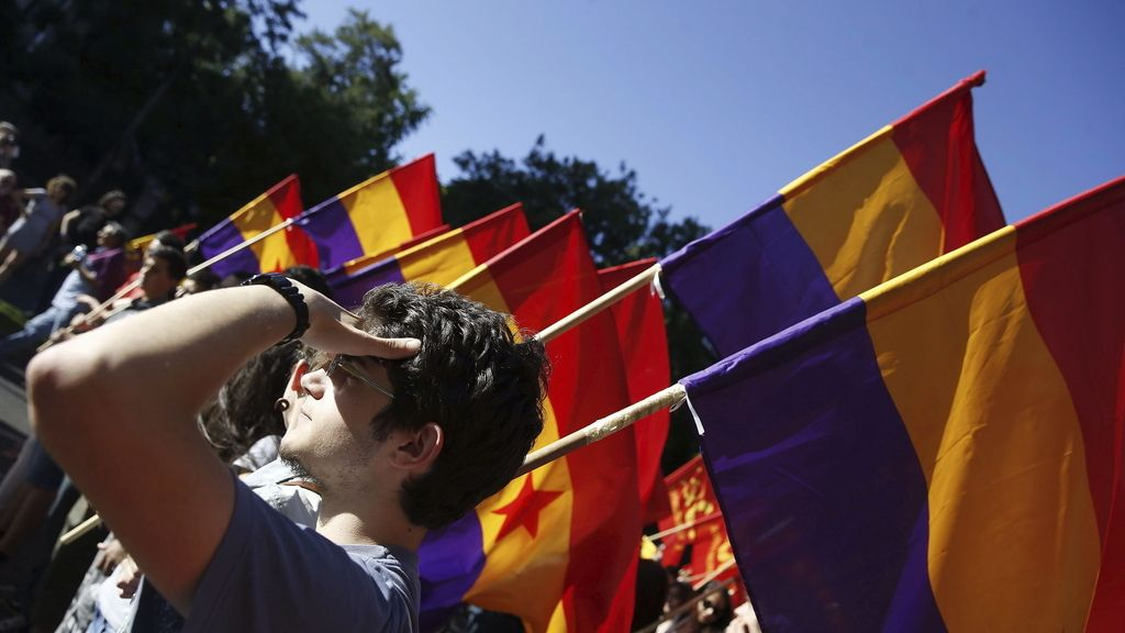Manifestación por la Repúbica en Madrid