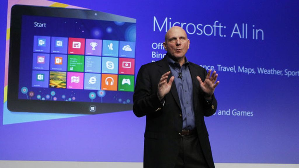 Steve Ballmer, Microsoft, Windows 8