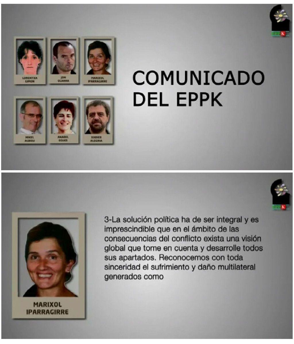 Comunicado de los Presos de ETA