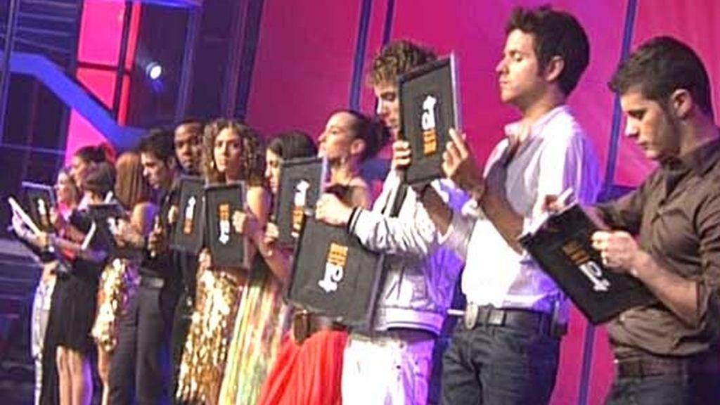 La gala 1, foto a foto