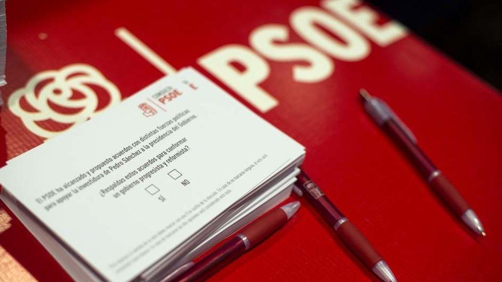 Consulta en el PSOE a sus bases
