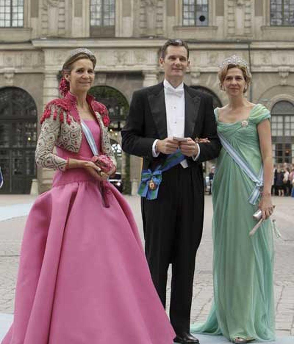 La Familia Real española, en Suecia