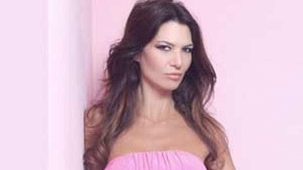 La modelo, en una imagen publicitaria.