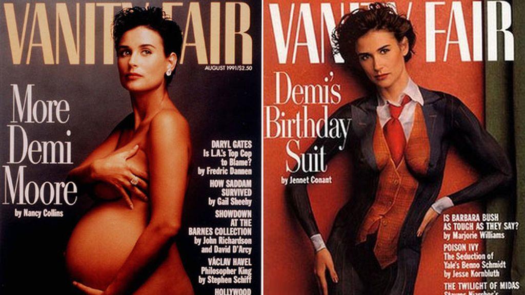 Fotografió a Demi Moore para Vanity Fair dos veces