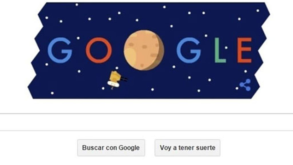 Plutón,New Horizons,planeta enano,Sonda New Horizons,NASA,Google,doodle Google