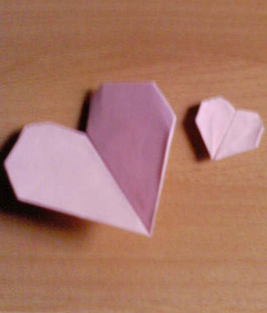 Mi corazón de papel rosa