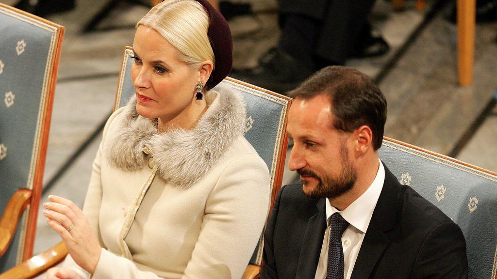 Príncipes de Noruega: Hakoon y Mette Marit
