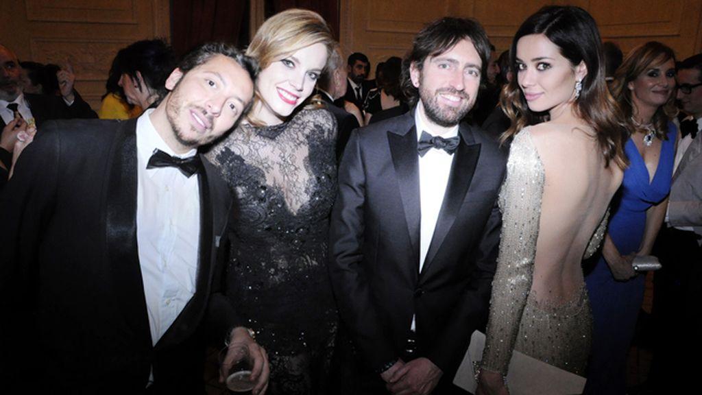 Rafa Pontes, Carolina Bang, Daniel Sánchez Arévalo y Dafne Fernández
