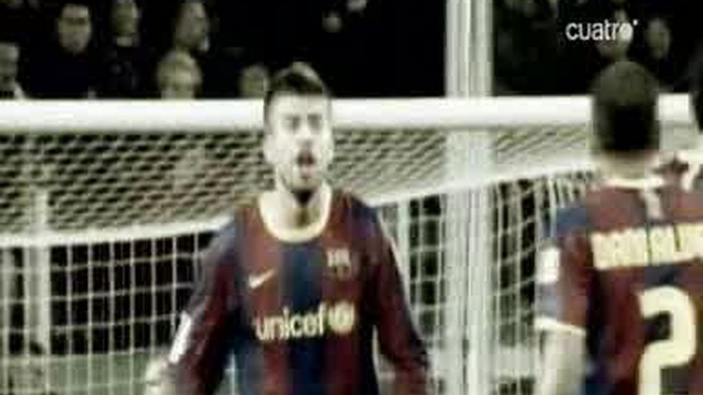 Calentón entre Piqué y Alves