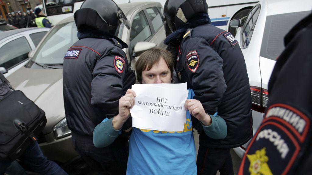 Detenido en Rusia