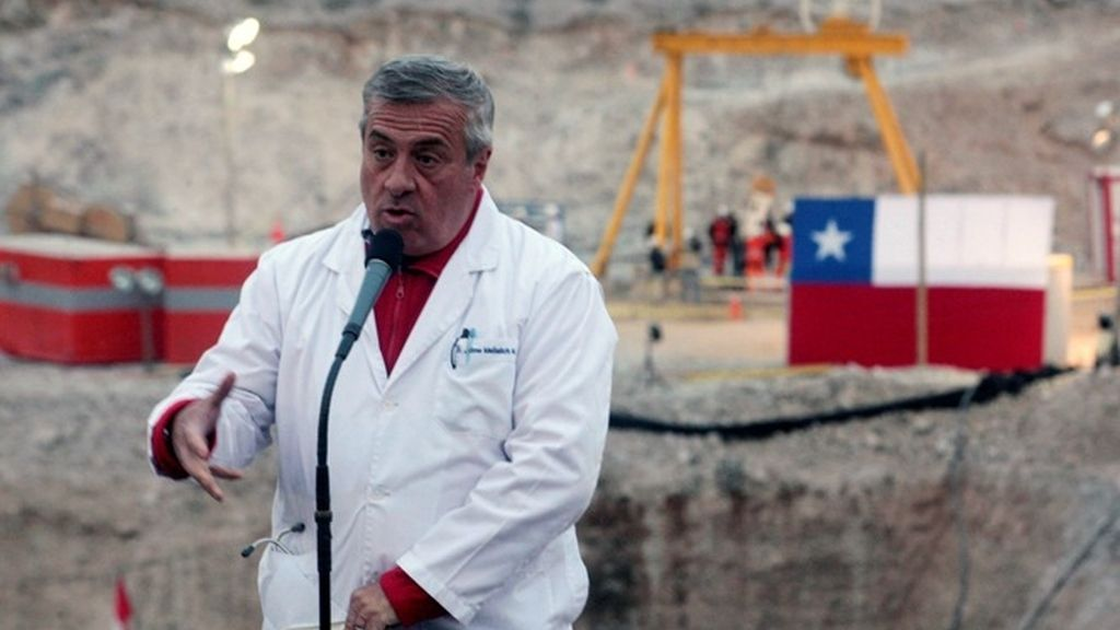 El ministro de Sanidad chileno