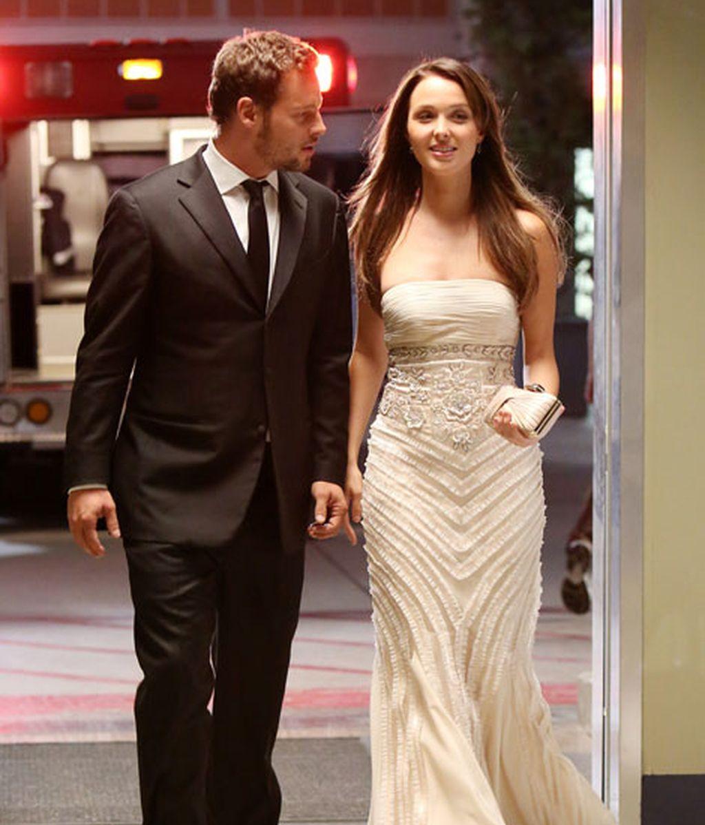 Alex Karev junto a Jo Wilson, una pareja muy favorecida