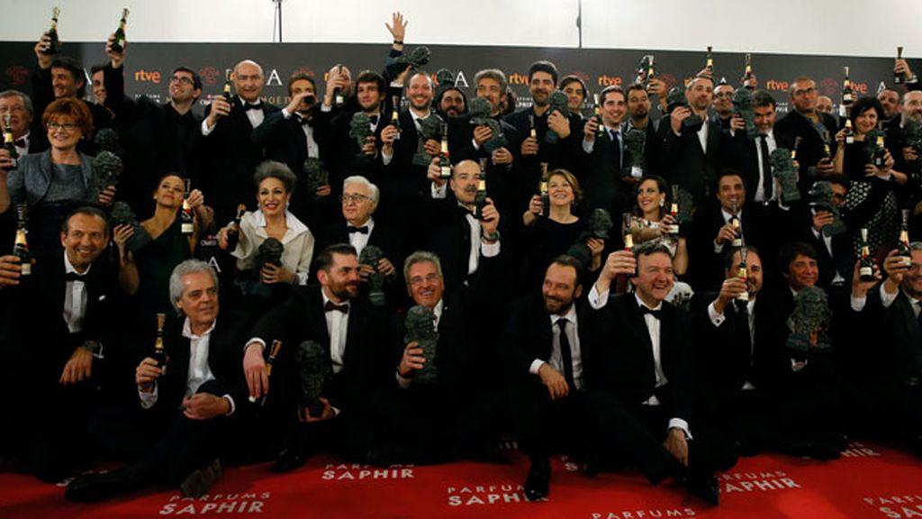 Todos los premiados de los Goya 2016