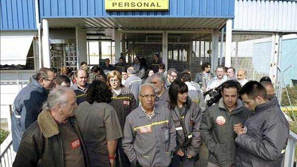 Encerrados en la fábrica de Renault